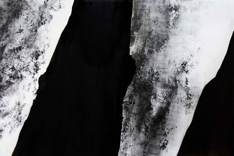 Alexandre Valette Interior Painting - Noir - Pierre I