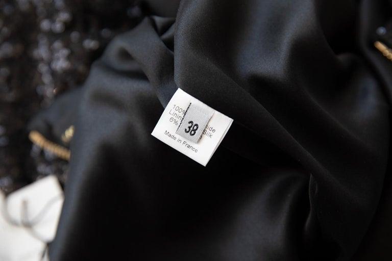 Alexandre Vauthier Long Sleeve Sequin Mini Dress For Sale 1
