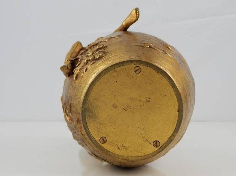 Alexandre Vibert Dore Bronze Pitcher For Sale 1