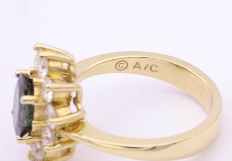 Alexandride Lady Diana Ring with GUB Certificate 1.73 Carat In New Condition For Sale In New York, NY