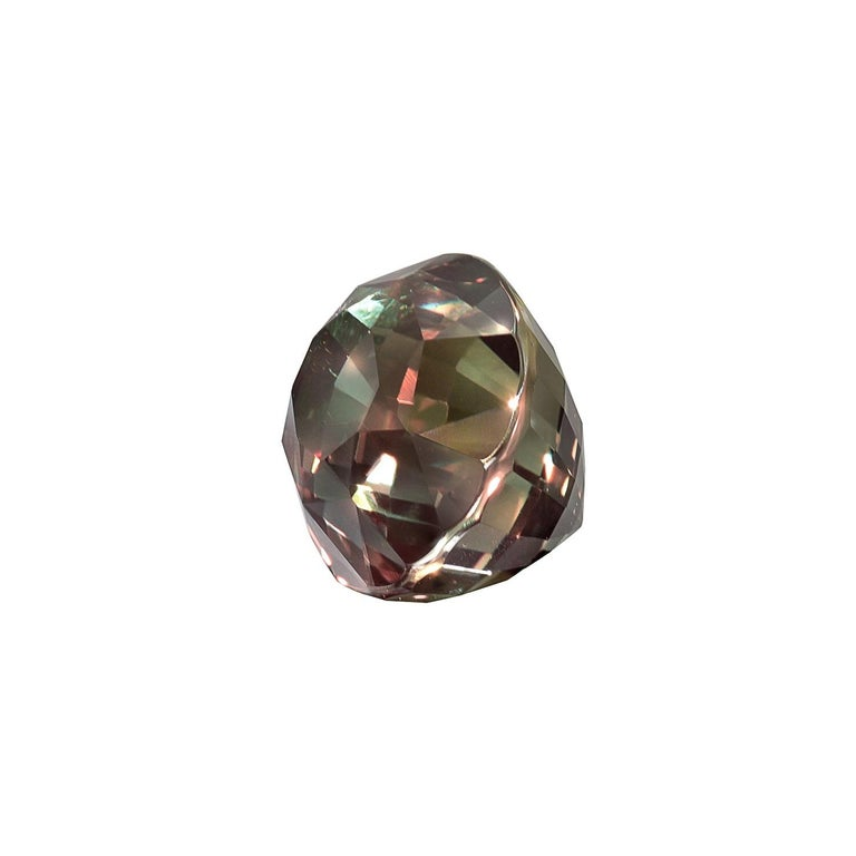 Oval Cut Alexandrite Ring Gem 3.40 Carat Loose Gemstone For Sale