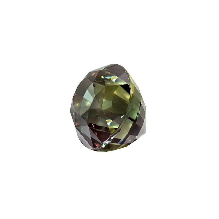 Alexandrite Ring Gem 3.40 Carat Loose Gemstone In New Condition For Sale In Beverly Hills, CA