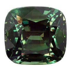 Alexandrite 5.01 Carat AGL Certified Classic India Ring