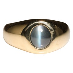 Alexandrite Cat's Eye Ring