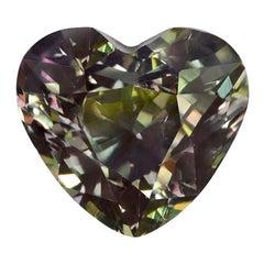 Alexandrite Heart Shape 1.64 Carat