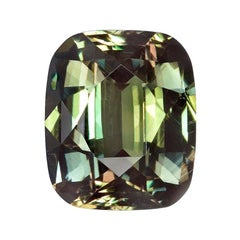 Alexandrite Ring Gem 3.09 Carat Loose Unset Gemstone
