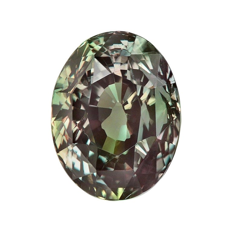 Alexandrite Ring Gem 3.40 Carat Loose Gemstone For Sale