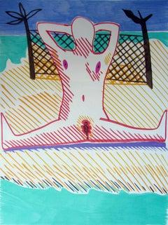 Strange woman II - 21st Century, Nude, Figurative Art, Human Body