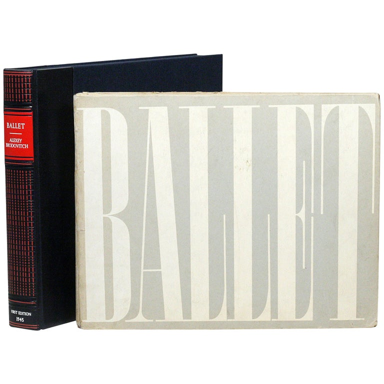 Alexey Brodovitch - Ballet - First Edition Photography Book For Sale