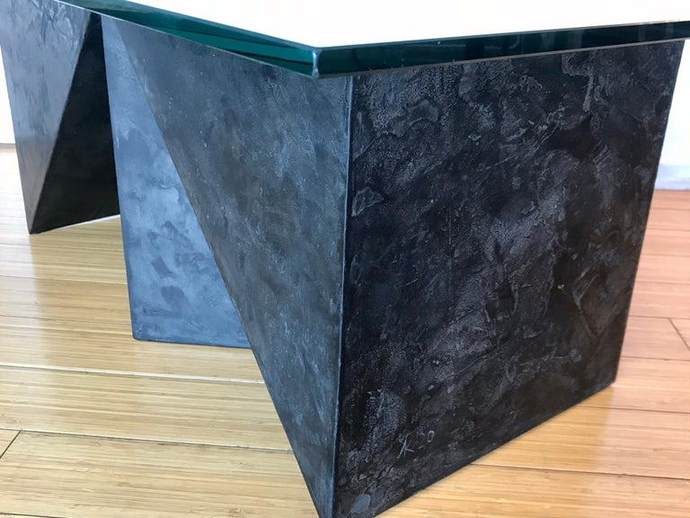 Alexey Krupinin Geometric Coffee or Console Table, 2020 For Sale 2