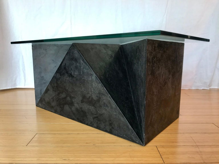 Alexey Krupinin Geometric Coffee or Console Table, 2020 For Sale 5