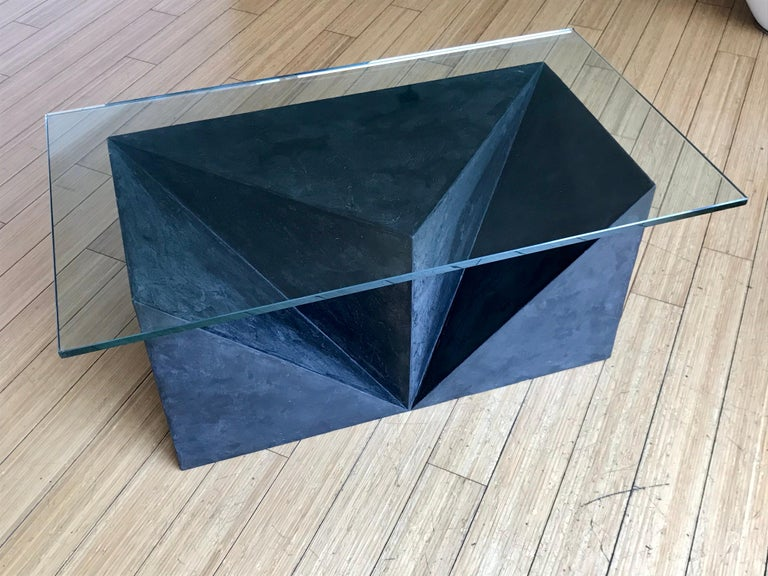Alexey Krupinin Geometric Coffee or Console Table, 2020 For Sale 6