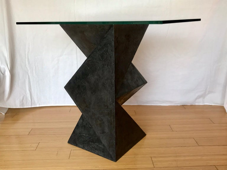 Alexey Krupinin Geometric Coffee or Console Table, 2020 For Sale 7