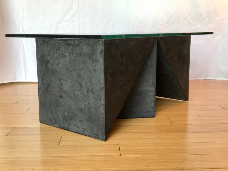 Modern Alexey Krupinin Geometric Coffee or Console Table, 2020 For Sale