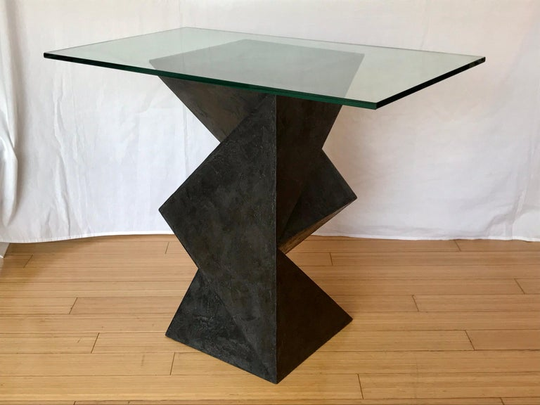American Alexey Krupinin Geometric Coffee or Console Table, 2020 For Sale