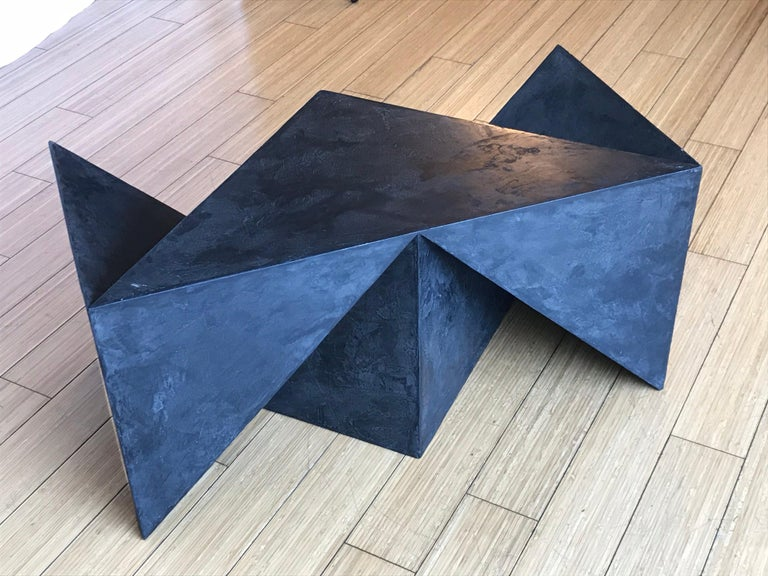 Alexey Krupinin Geometric Coffee or Console Table, 2020 In Excellent Condition For Sale In Los Angeles, CA