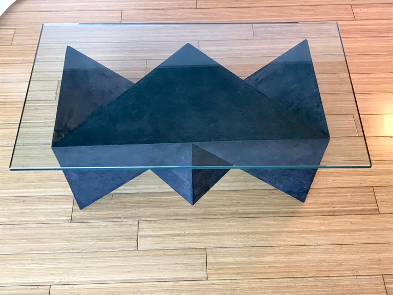 Contemporary Alexey Krupinin Geometric Coffee or Console Table, 2020 For Sale