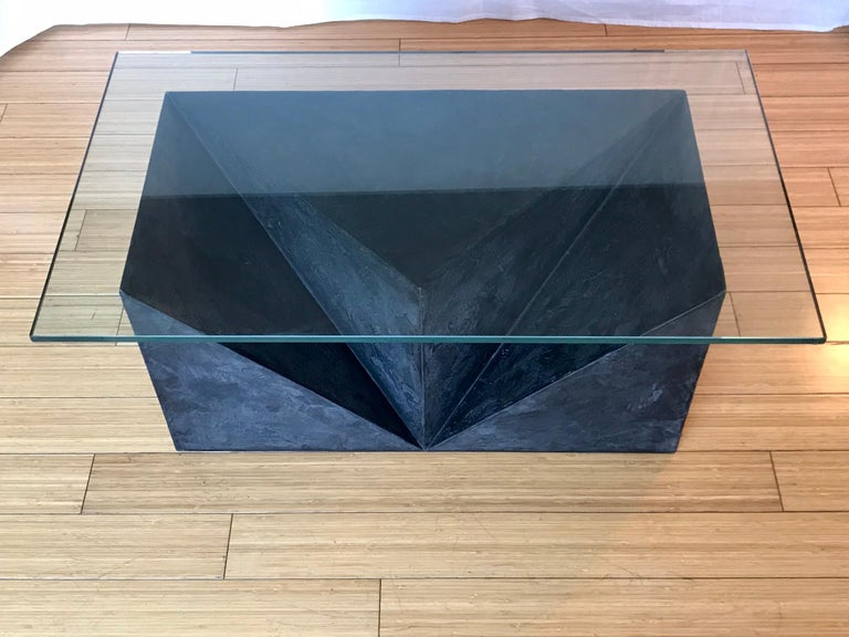 Wood Alexey Krupinin Geometric Coffee or Console Table, 2020 For Sale