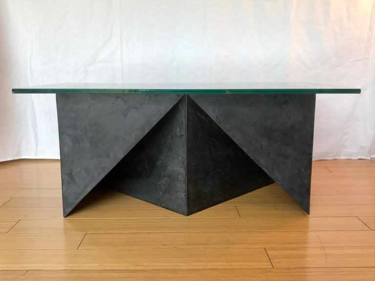 Alexey Krupinin Geometric Coffee or Console Table, 2020 For Sale 1