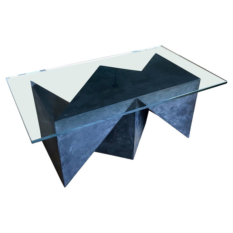 Alexey Krupinin Geometric Coffee or Console Table, 2020 For Sale