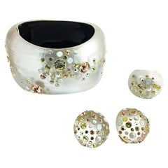 Alexis Bittar Bracelet Ring & Earrings