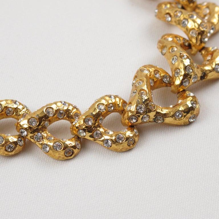 Alexis Lahellec Paris Jeweled Choker Necklace For Sale 1