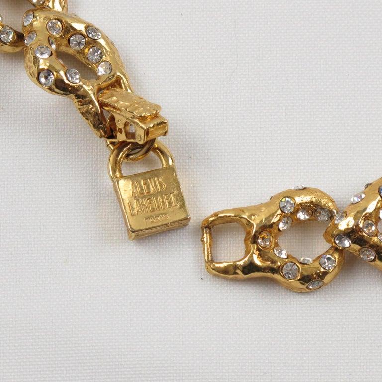Alexis Lahellec Paris Jeweled Choker Necklace For Sale 2