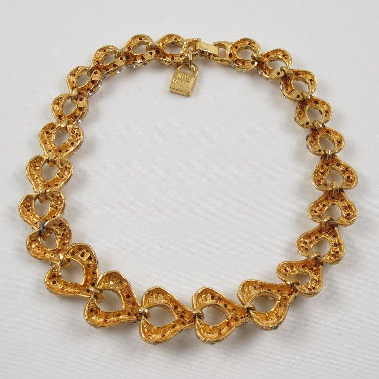 Alexis Lahellec Paris Jeweled Choker Necklace For Sale 3