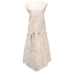 Alexis Mabille Lace Skirt Set S