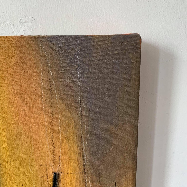 Mixed Media Abstract Painting  -- Iroko Roots V For Sale 3