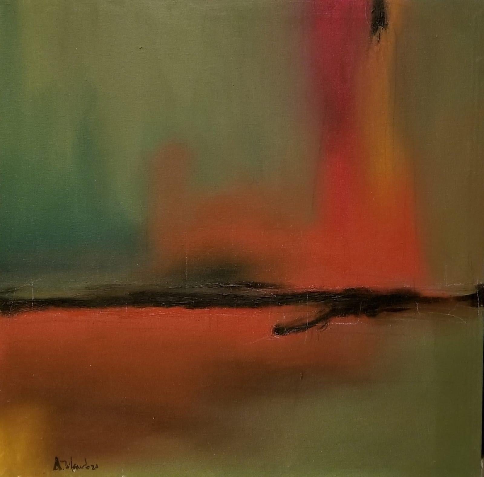 Contemporary Abstract Painting -- Untitled