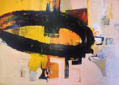 """47 x 65 in. / 4 x 5.4 ft """"Oregon"""" - Large abstract Oil on Canvas"""