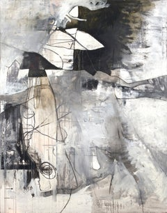 94 x 74 in. / 7 ft 10  x 6 ft 2 Oil Painting - Black Elk