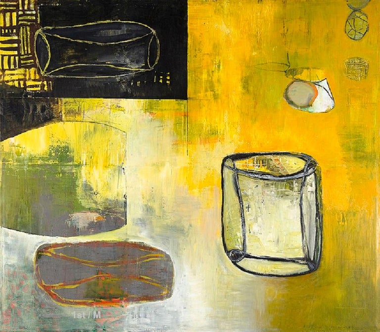 Alexis Portilla Figurative Painting - 68 x 78 in. / 5.6 x 6.5 ft  oil on canvas abstract expressionist