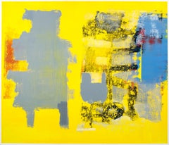 (Large) Oils on Paper - Color Code I, available as diptych