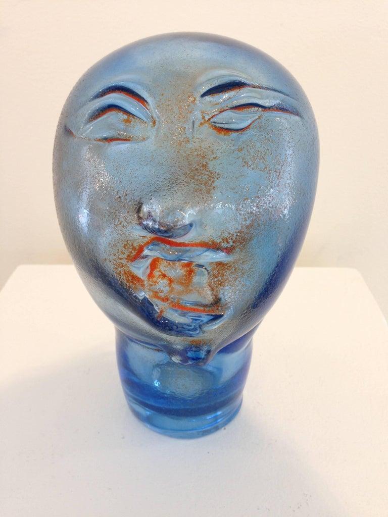 Dream Head #11 - Sculpture by Alexis Silk