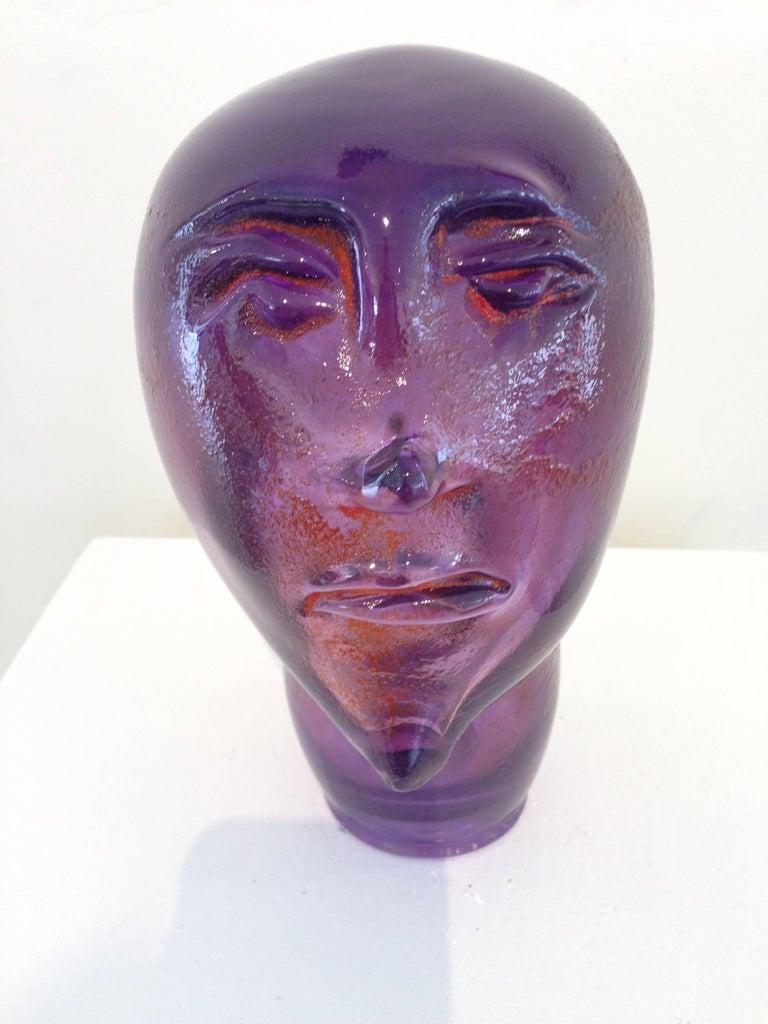 Dream Head #9 - Sculpture by Alexis Silk
