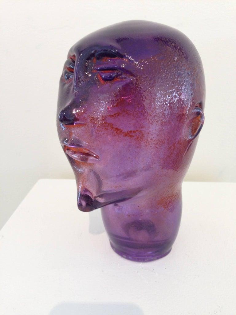 Dream Head #9 - Conceptual Sculpture by Alexis Silk