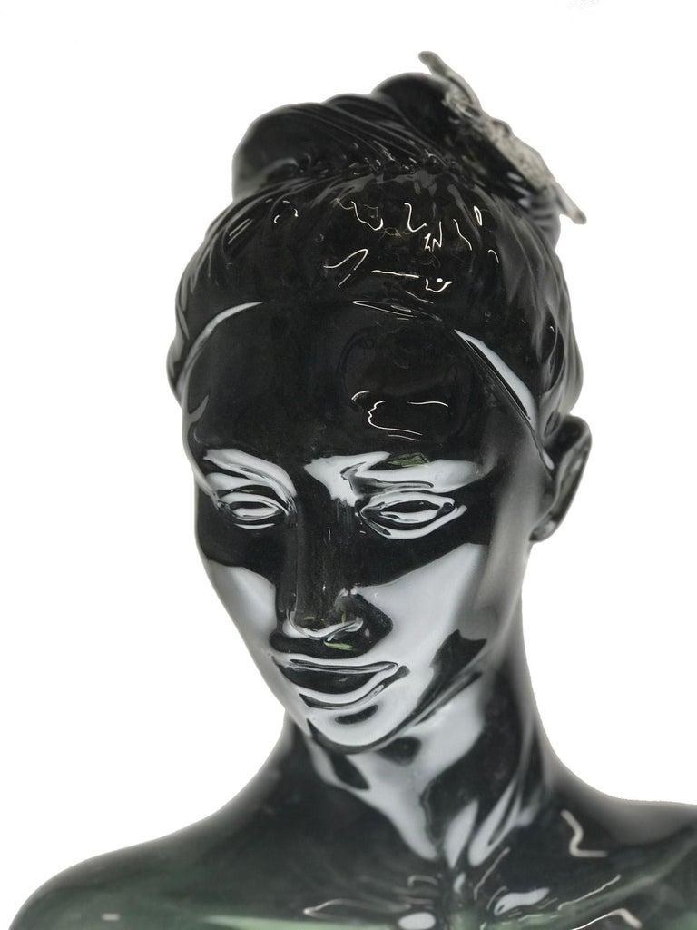 Alexis Silk Figurative Sculpture - Nature's Beauty