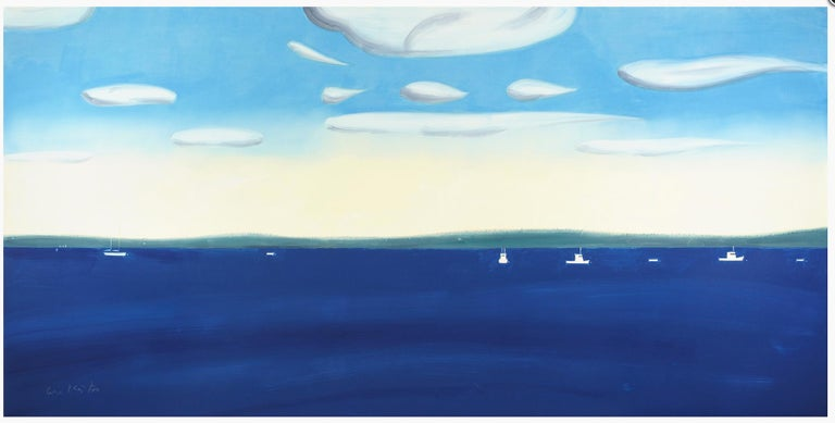 Alex Katz Landscape Print - 4:30 PM