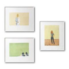Al Mare Portfolio (Sissel, Harbor and Harbor #10), Set of 3 Framed Prints