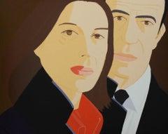 Alex Katz 'Ada and Alex' 1984 Screenprint