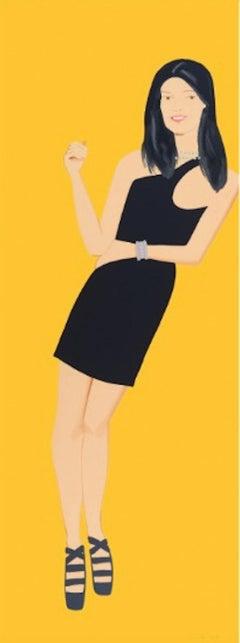 Alex Katz, Black Dress (Yi)