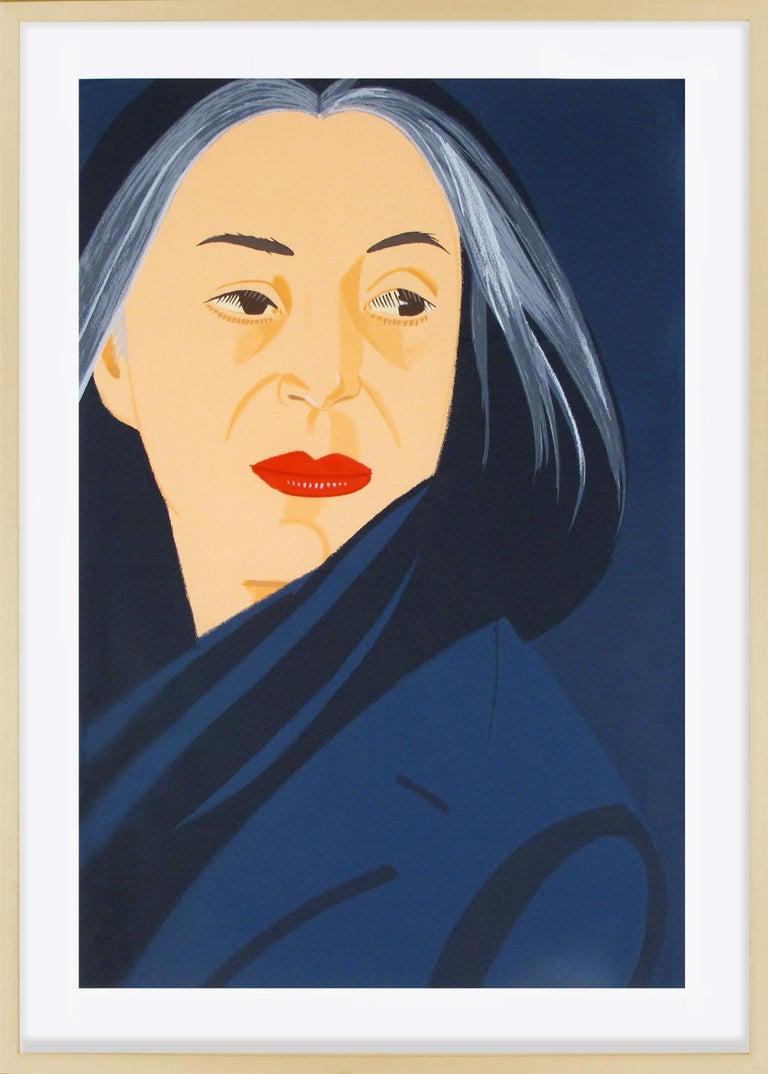 """Alex Katz, """"Black Scarf"""", Screenprint, 1996 - Print by Alex Katz"""