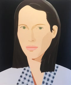 "Alex Katz	""Christy""; 2013; Silkscreen; 60 x 50 inches; Edition of 76"