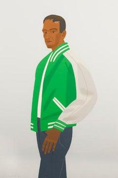 Alex Katz 'Green Jacket' Artist's Proof, Signed Print