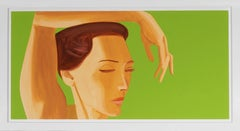 Alex Katz, Homage to Degas Etching, 2020