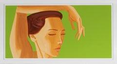 Alex Katz, Homage to Degas, Etching, 2020