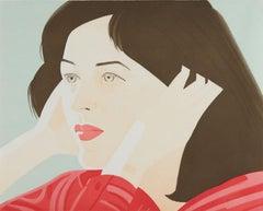 Alex Katz, 'Joan' 1986 Print