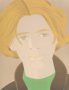 Alex Katz, Lithograph 'Homage to Frank O'Hara: William Dunas', 1972